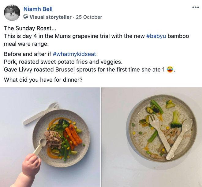 Niamh Bell babyU Bamboo