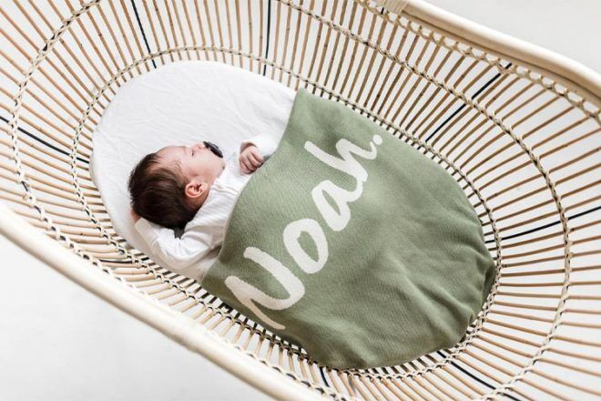 Namely Co Personalised Blankets