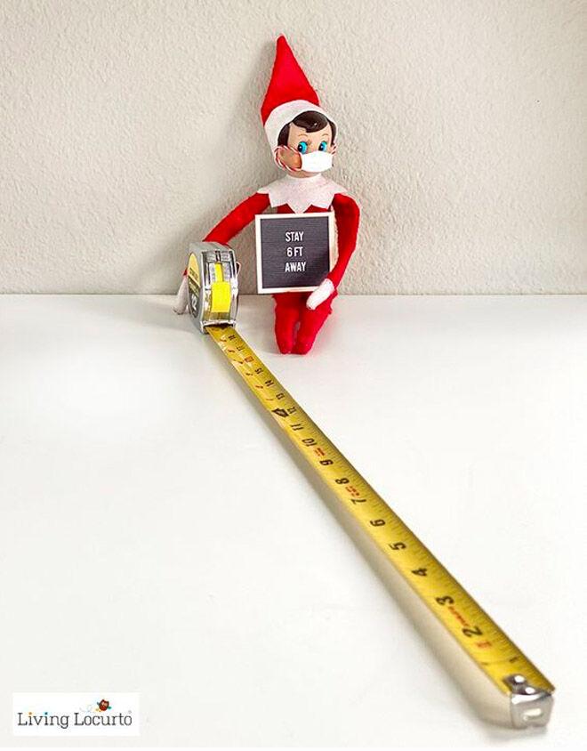 Social distancing elf