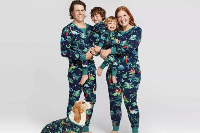 Heartfelt Embroidery etsy christmas pyjamas