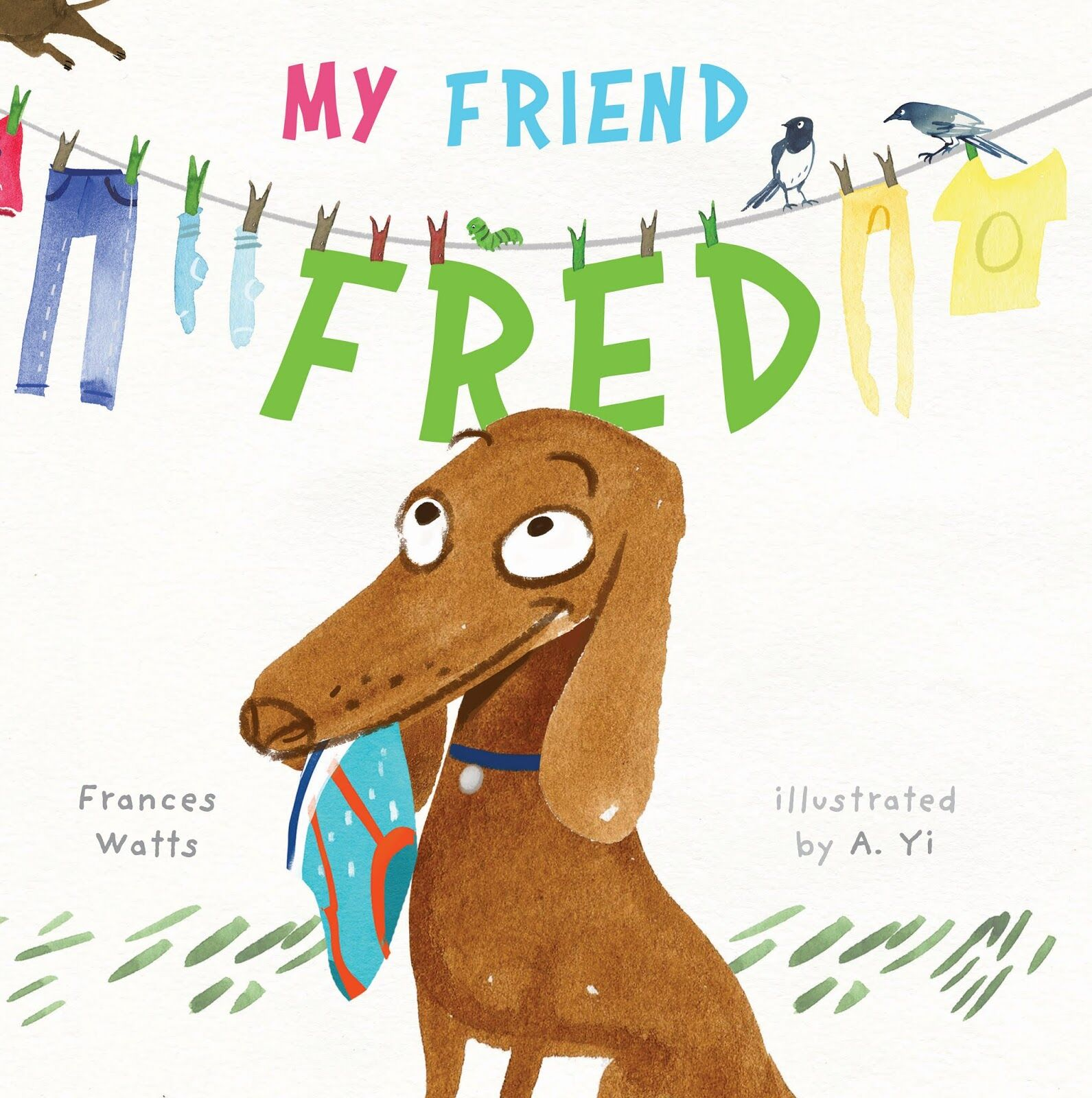 My Friend Fred Book of the Year