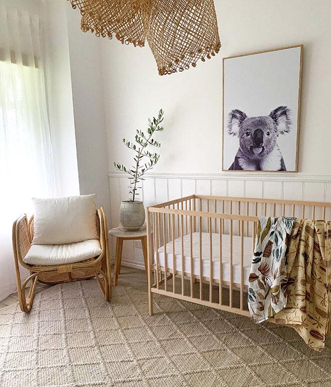 Baby nursery on a budget