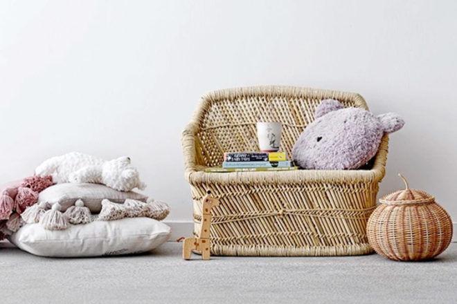 Bloomingville Mini Bamboo Sofa for Kids