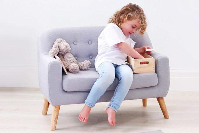 Hip Kids Montana Linen Kids' Sofa