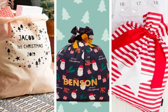 Best Santa Sacks for 2020   Mum's Grapevine