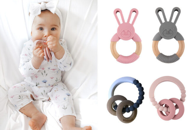 Emotion and Kids Winibeads Baby Teethers