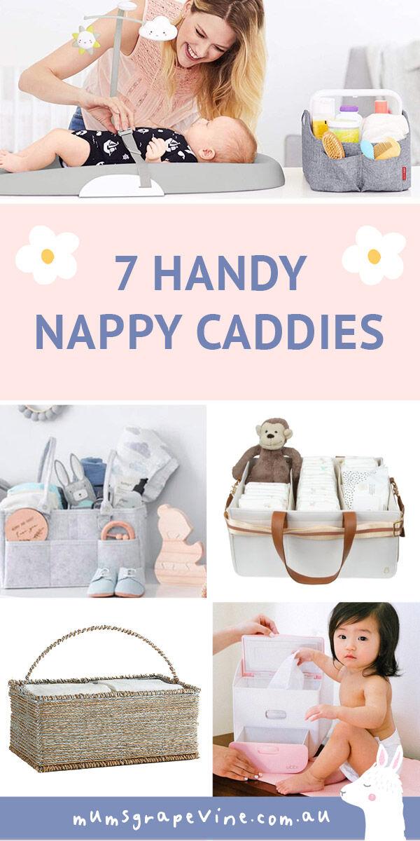 7 best nappy caddies for 2021 | Mum's Grapevine