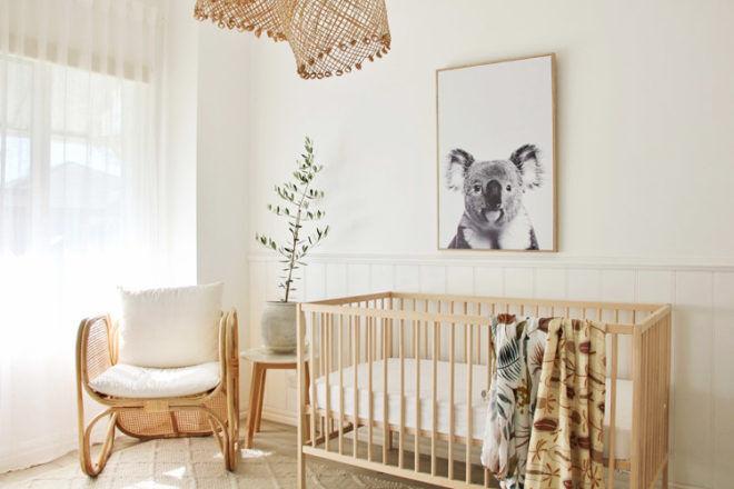 Thrifty mum's Insta-worthy nursery | Mum's Grapevine
