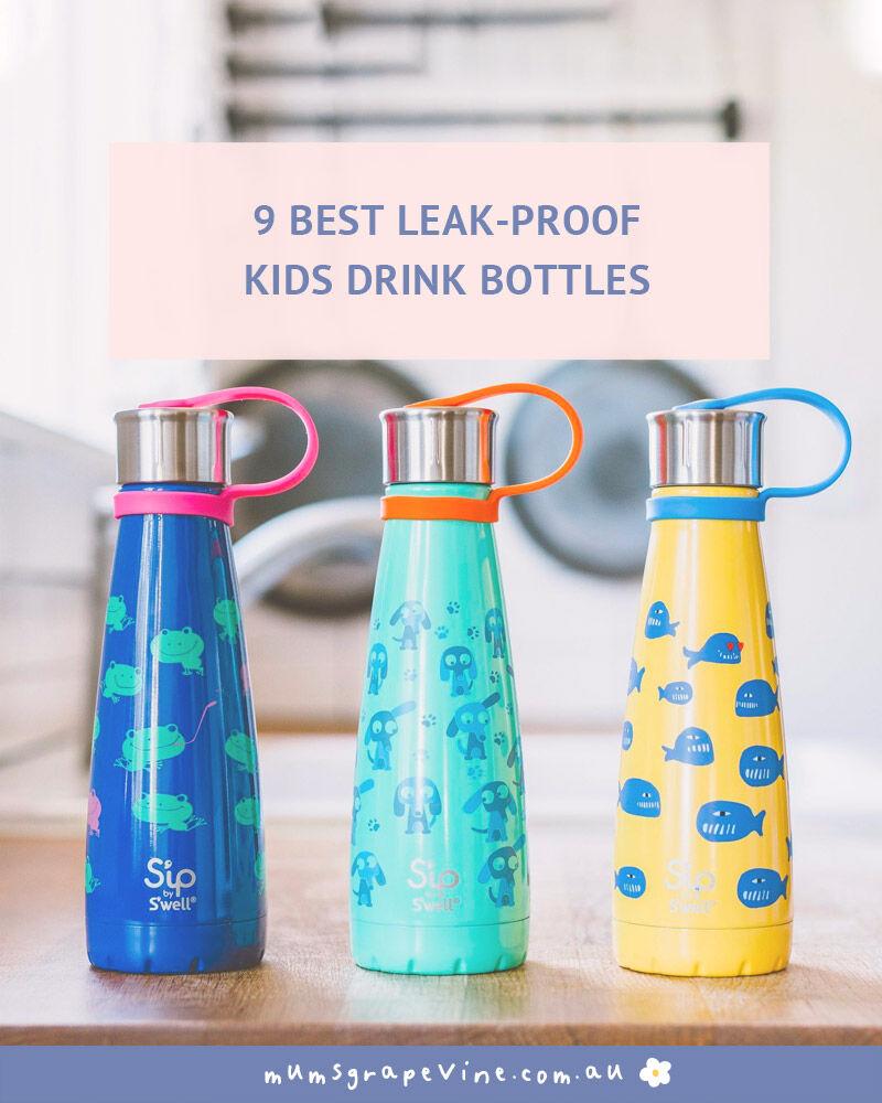 Best leak-proof drink bottles | Mum's Grapevine