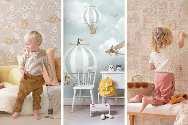 18 best nursery wallpaper designs for 2021   Mum's Grapevine
