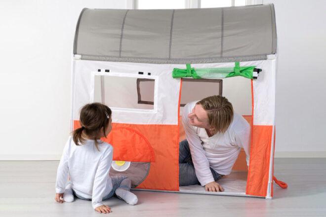 IKEA HEMMAHOS Caravan Play Tent