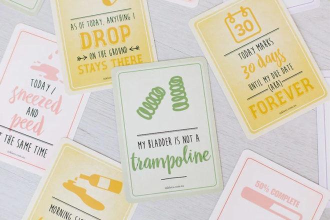 Inklets Pregnancy Milestone Cards