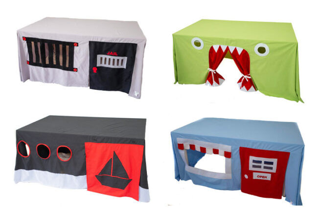 Mini Me Collection Tablecloth Play Tents