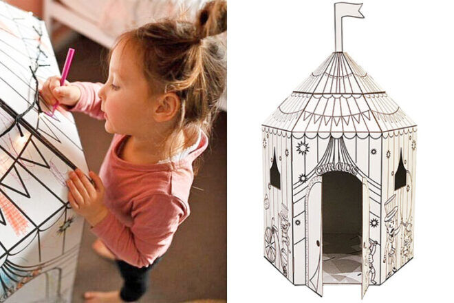 The Little Cardboard Co. Circus Play Tent