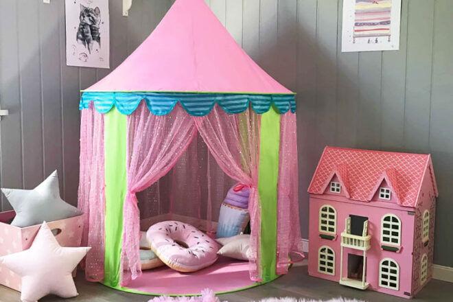 Tiny Land Kids' Princess Castle Play Tent