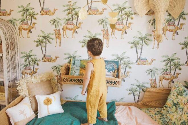 Tiny Walls Moroccan Nights Nursery Wallpaper