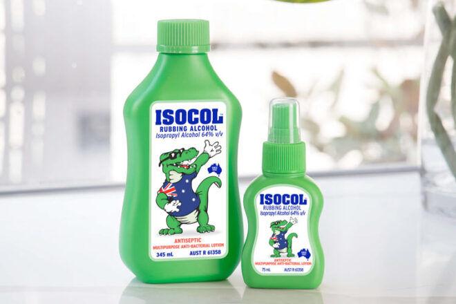 Isocol Rubbing Alcohol
