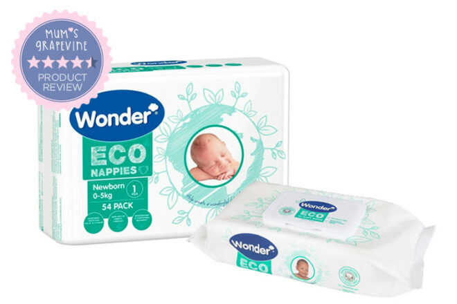 Wonder Eco Nappies and Wipes review | Mum's Grapevine