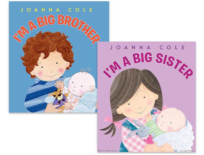 I'm a Big Sister and I'm a Big Brother books