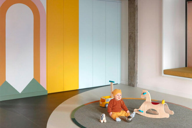 Modernist early learning centre