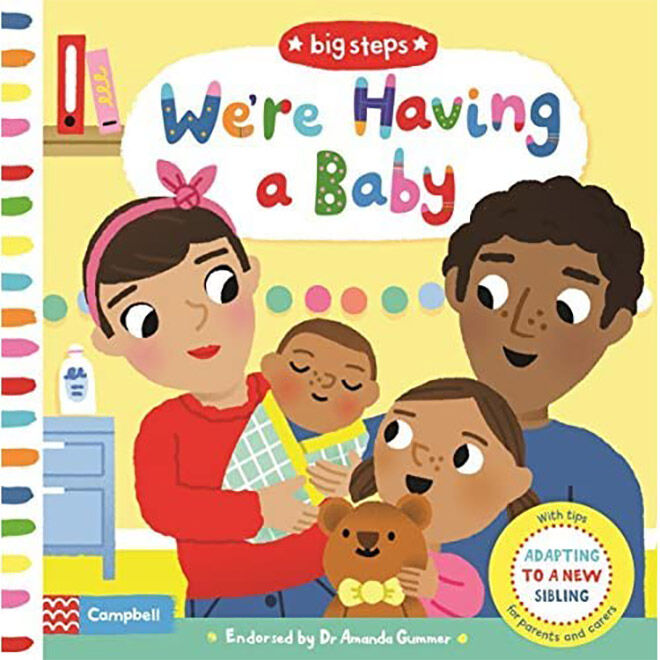 We're Having a Baby Board Book