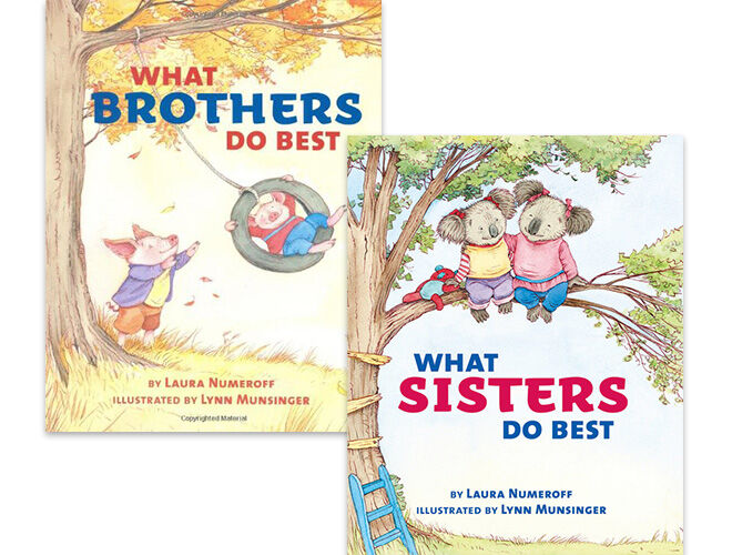 What brothers do best and What sisters do best books