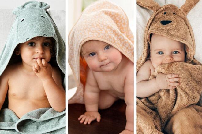 16 best hooded baby towels in Australia