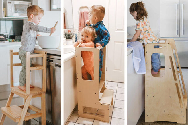 Best learning towers for independent toddlers | Mum's Grapevine