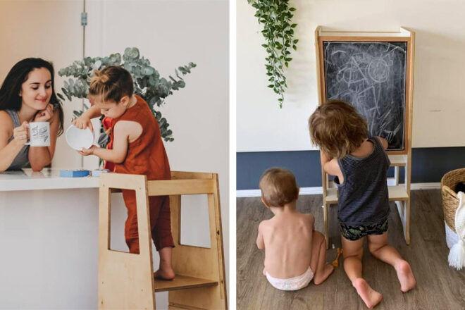 Little Big Learning Slimline Learning Tower