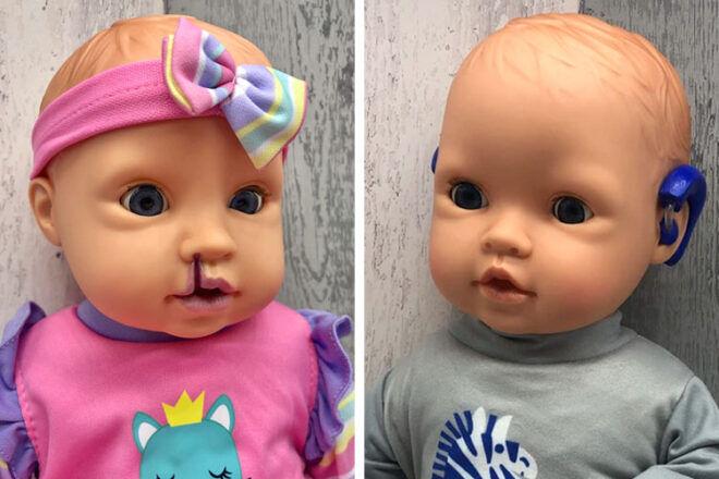 Mum creates inclusive dolls