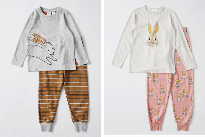 Target Kids Organic Cotton Easter Pyjama Sets