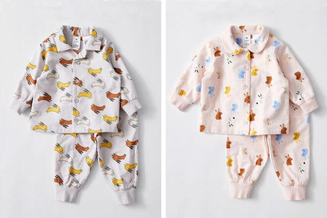 Target Organic Flannelette Baby Bunny Pyjamas