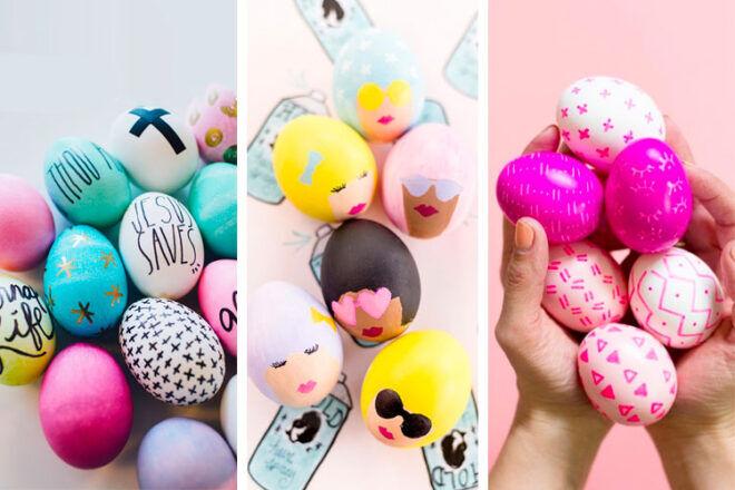Easy Easter Egg Decorating ideas | Mum's Grapevine