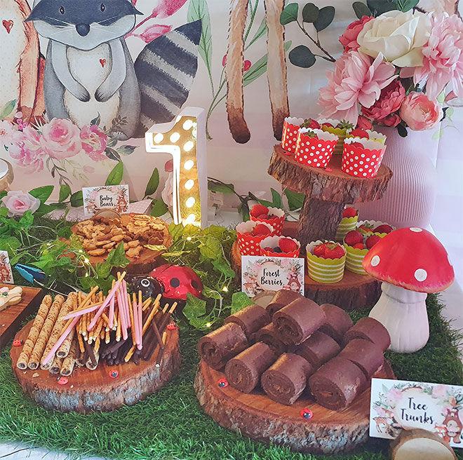 Amelia's Wild One birthday party