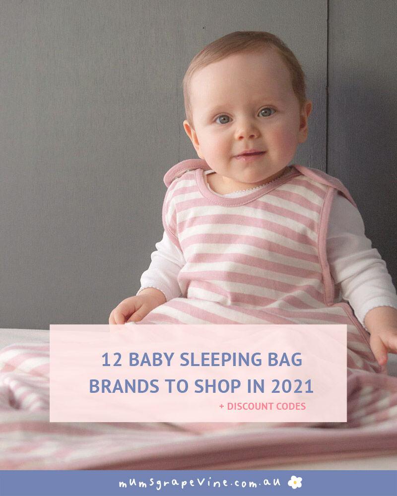 12 baby sleeping bag brands ( + discount codes )
