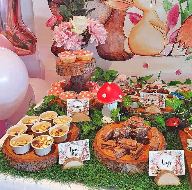 First birthday party food