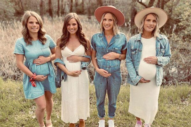 Gaines sisters pregnancies