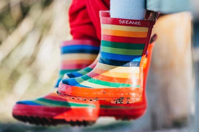 Skeanie Gumboots for Kids