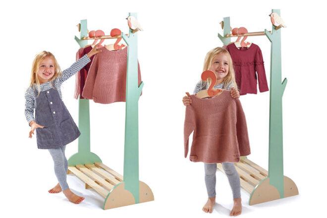Tender Leaf Toys Clothes Rack