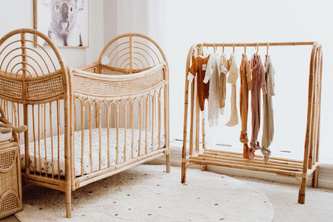 Valentine and Coco Margot Kids' Clothes Rack