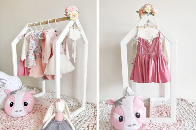 Works at Play Dress-Up Clothes Rack