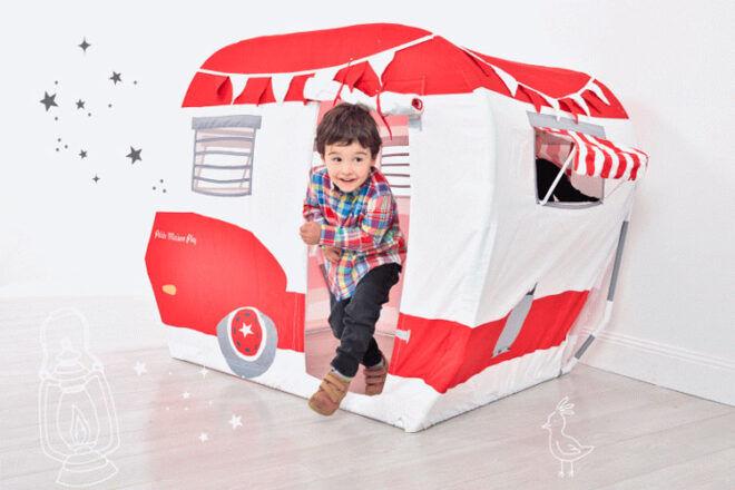 Petite Maison Pop-Up Camper play tent