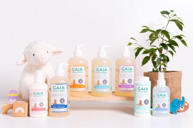 GAIA natural baby skincare