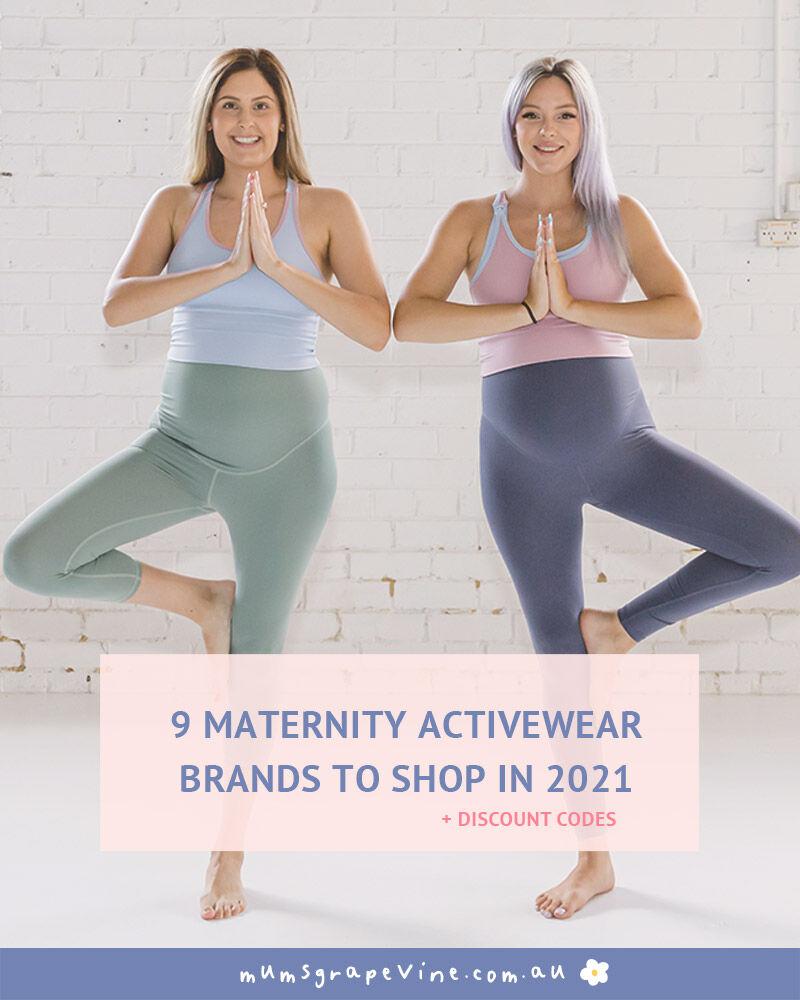 Shop Australia's best maternity activewear brands | Mum's Grapevine