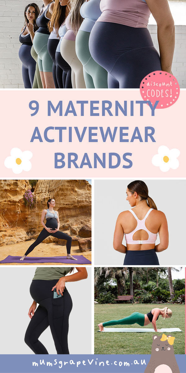 Shop Australia's best activewear for maternity and beyond | Mum's Grapevine