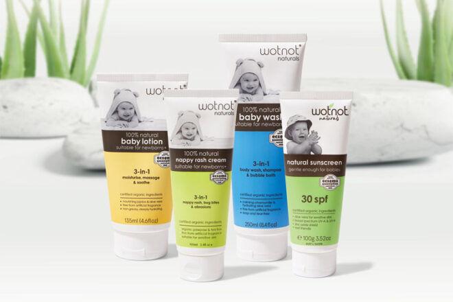 Wotnot Naturals Baby Skincare