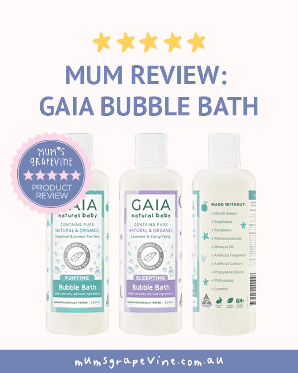 GAIA skin naturals bubble bath