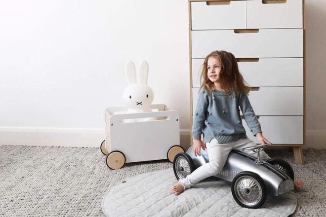 Hip Kids Steel Racer Kids' Ride-On Car