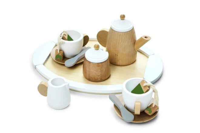 Hip Kids Wooden Tea Set