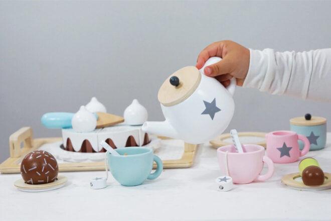 Jabadabado Kids' Tea Set